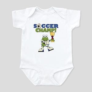 Frog Soccer Champ Infant Bodysuit
