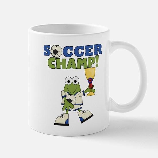 Frog Soccer Champ Mug
