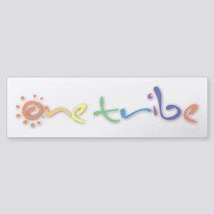 One Tribe Sticker (Bumper)