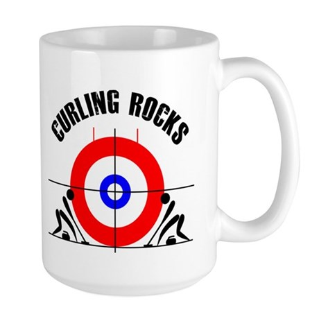 Curling Large Mug