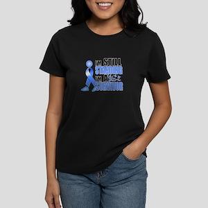 Still Standing I'm A Survivor Women's Dark T-Shirt