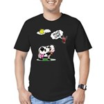 Holy Cow Men's Fitted T-Shirt (dark)