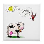 Holy Cow Tile Coaster