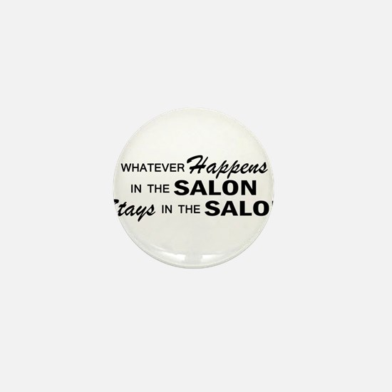 Whatever Happens - Salon Mini Button