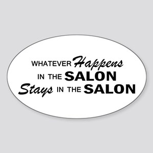 Whatever Happens - Salon Sticker (Oval)