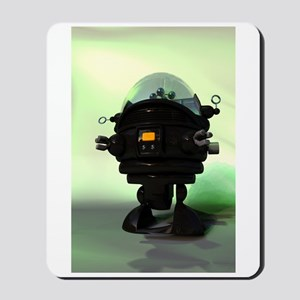 Cute Toy Planet Robot Mousepad