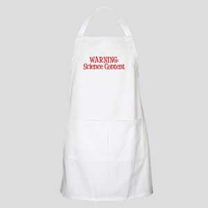 Warning! Science Apron