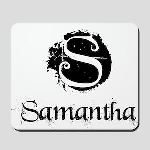 Samantha Grunge Mousepad