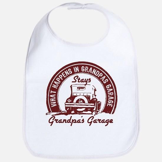 Grandpa's Garage Bib