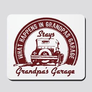 Grandpa's Garage Mousepad