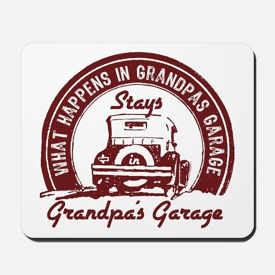 Grandpa's Garage Mousepad