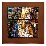 The Nativity Framed Tile