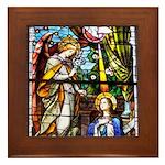 The Annunciation Framed Tile