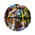 """The Annunciation"""" Ornament (Round)"""