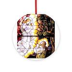 Jesus Praying Ornament (Round)
