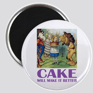 CAKE WILL MAKE IT BETTER Magnet