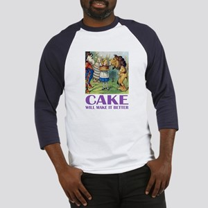 CAKE WILL MAKE IT BETTER Baseball Jersey
