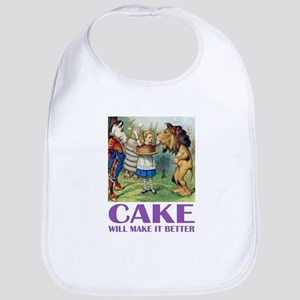 CAKE WILL MAKE IT BETTER Bib