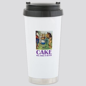 CAKE WILL MAKE IT BETTER Stainless Steel Travel Mu