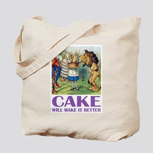 CAKE WILL MAKE IT BETTER Tote Bag