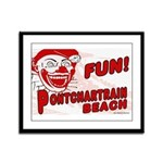 Pontchartrain Beach Framed Panel Print