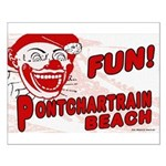 Pontchartrain Beach Small Poster