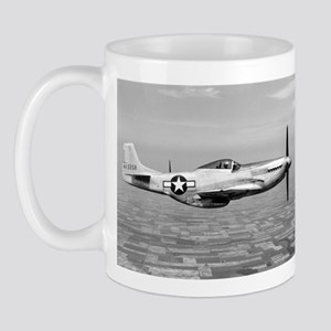 P-51 In Flight Mug