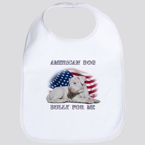 Bully for Me, American Dog Bib