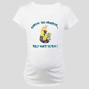 Polly Rum Maternity T-Shirt
