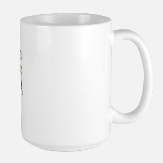 Dressage Hands Large Mug