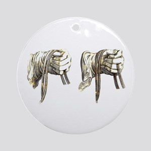 Dressage Hands Ornament (Round)