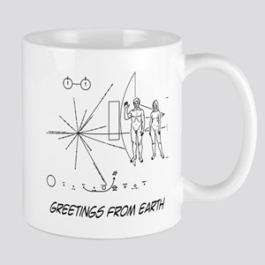 Greetings From Earth Mug