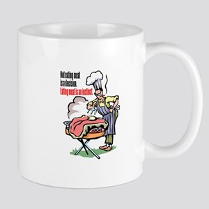 MEAT IS A DECISION Mug