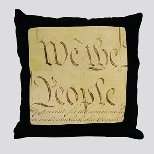 We The People I Throw Pillow