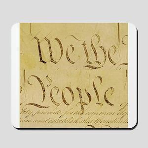 We The People I Mousepad