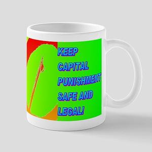 KEEP CAPITAL PUNISHMENT Mug