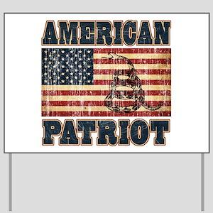 American Patriot Yard Sign