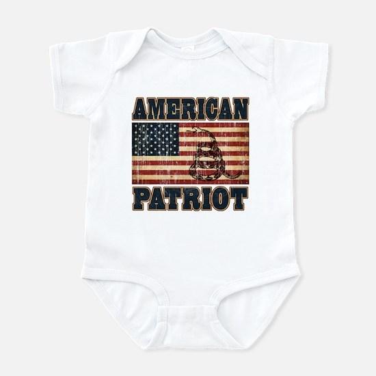 American Patriot Infant Bodysuit