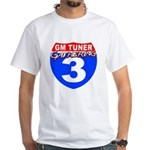 2010 GM Tuner Gathering Event White T-Shirt