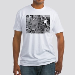 P-38 Cockpit Fitted T-Shirt