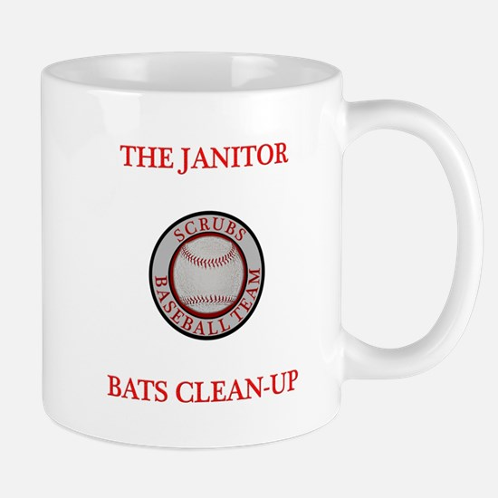 The Janitor Bats Clean-Up Mug