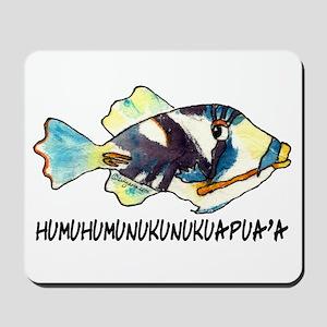 Humuhumu Fish Mousepad
