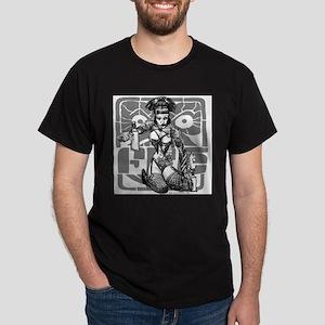 Fre's Vandal Pinup #01 Dark T-Shirt