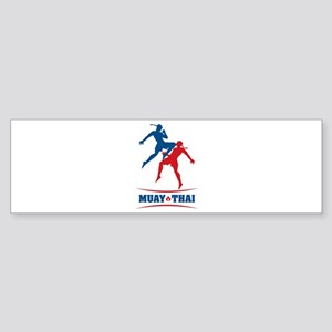 Muay Thai Sticker (Bumper)