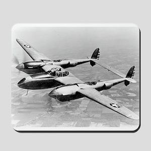 P-38 In Flight Mousepad