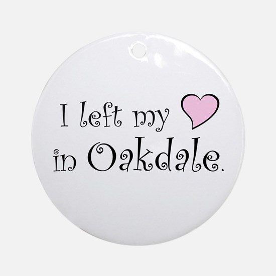 Oakdale Ornament (Round)