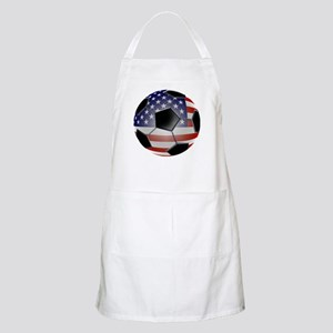 US Flag Soccer Ball Apron