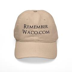 Rememberwaco.com Ball Baseball Cap (large Print)