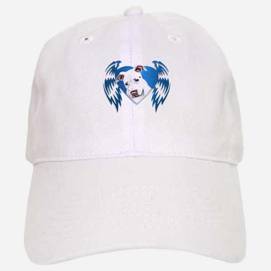 Bully Tribal Heart Wings Baseball Baseball Cap