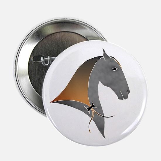 i love dressage grey Button
